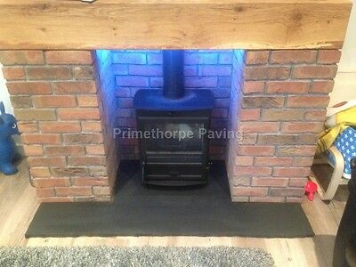 Fireplace Hearth | 90cm X 60cm | Natural Stone | Either 22 + 30mm Thickness • 66£