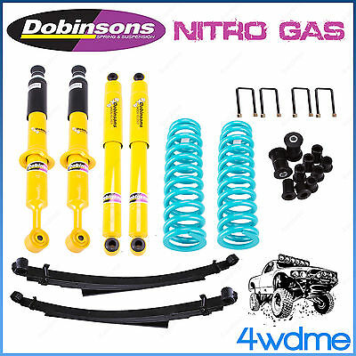 AU1636.80 • Buy For Toyota Hilux KUN26 N70 Dobinson Shocks Coil Springs Leaf Springs 2  Lift Kit
