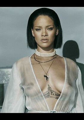 AU12.99 • Buy Rihanna 4 Sexy Celebrity Singer New A4 Poster Gloss Print Laminated