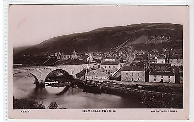 HELMSDALE FROM SOUTH: Sutherland Postcard (C20684) • 6£