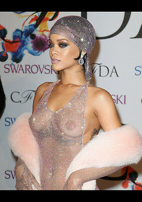 AU12.99 • Buy Rihanna 6 Sexy Celebrity Singer New A4 Poster Gloss Print Laminated