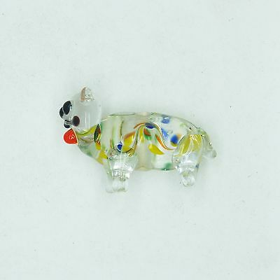 £12.21 • Buy Glass Beads Teal Clear Color Lined Cat Animal 25mm. Pack Of 10. Made In India.