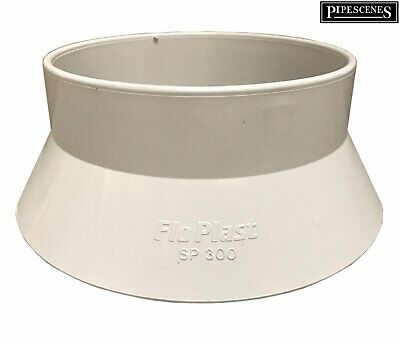 110mm Soil Pipe Vent Sleeve Roof Weathering Collar / Cover Weather Skirt - White • 6.65£