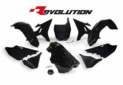 AU699.99 • Buy Yamaha YZ125 2012 2013 2014 2015 2016 Black Revolution Plastic Kit & Fuel Tank