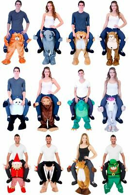 Choose Adult STD Size Funny Halloween Animal Lift Me Walking Carrying Costume • 14.65£