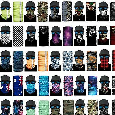 AU5.75 • Buy BANDANA DURAG: Face Shield Mask Fishing Headwear Biker Neck Gaiter Tube Scarf