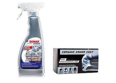 $66.40 • Buy Nano Ceramic Armor COAT For Car Paint And SONAX Xtreme Full Effect Wheel Cleaner