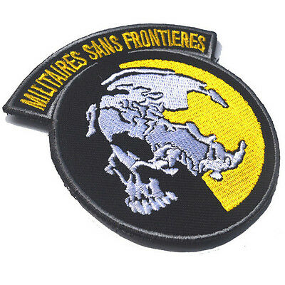 AU7.55 • Buy Metal Gear Solid Mgs Peace Walker Militaires Sans Frontieres 3d Army Hook Patch