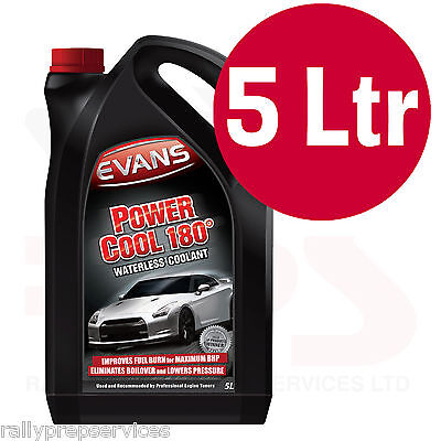 £57.65 • Buy EVANS WATERLESS POWER COOLANT 180 - 5 Litre High Performance / Rally Car / Race