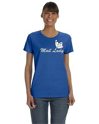$19.95 • Buy  Mail Lady  Great T-shirt For Post Office Postal Carrier Clerk Or Distribution
