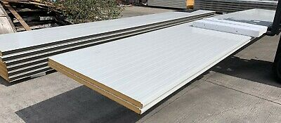 £223.49 • Buy Insulated WALL Panels – NEW – 40mm Thick – 7.5m Long – PIR – £21.50/m² +VAT