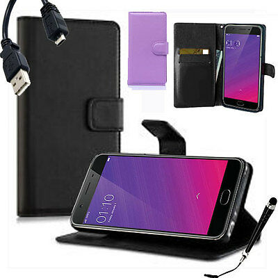 AU9.99 • Buy HQ Wallet Money Card Leather Case Cover For OPPO F1s A1601 +FREE Stylus & Cable