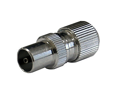£22.99 • Buy 100 X Premium Quality Easy Fit Male TV Aerial Coax Coaxial Plugs For RG6 WF100