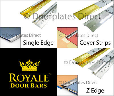 Full Range - Germany Quality Carpet Door Bars - Metal Threshold - Strips Profile • 3.99£