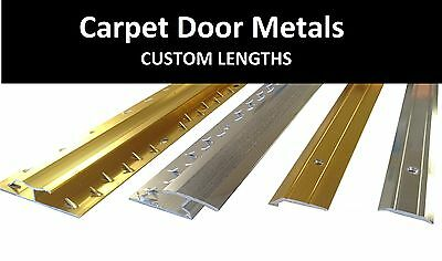 Carpet & Flooring Door Bars / Thresholds / Metal Strips - Custom Length • 3.99£