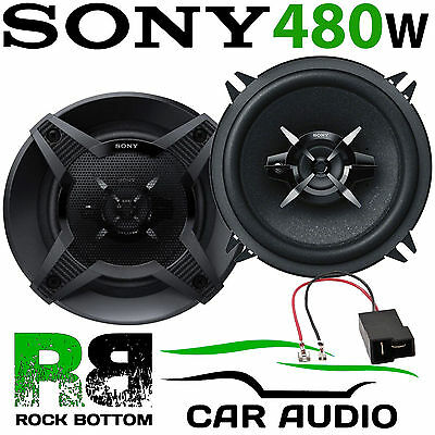 To Fit Subaru Impreza 1993-07 SONY 13cm 5.25  480W 3 Way Rear Door Car Speakers • 39.99£