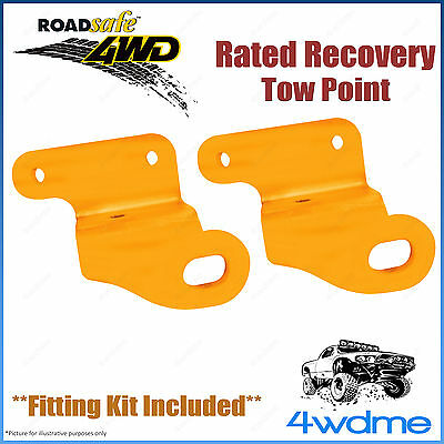 AU165.50 • Buy Mitsubishi Triton ML MN 4WD Roadsafe Rated Recovery Heavy Duty Tow Points Kit
