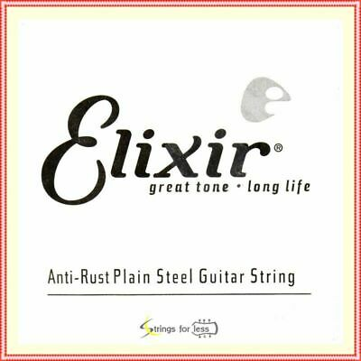 $ CDN8.84 • Buy Elixir Strings Anti-Rust Plated Plain Steel  Guitar Single String (.018)