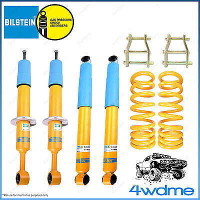 AU1230 • Buy Fits Toyota Hilux KUN26 N70 4WD Bilstein B6 KING Spring 2  50mm LIFT KIT