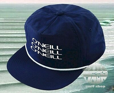 $16.95 • Buy New O'NEILL Cruiser Wave Set Mens Nylon Snapback Classic Retro Cap Hat