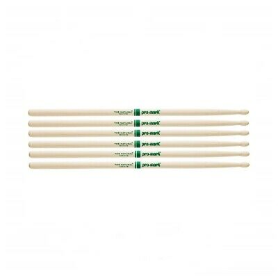 AU69 • Buy Promark The Natural American Hickory Wood Tip 5B - TXR5BW Drum Sticks 3 Pairs