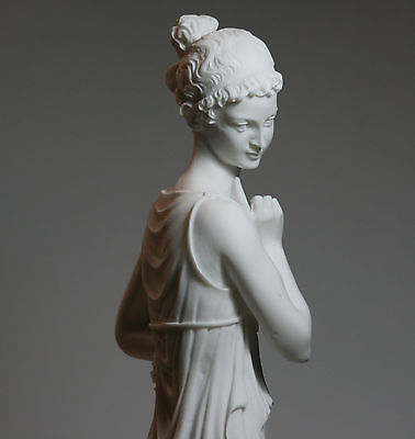The Dancer Canova Museum Copy Female LARGE Cast Marble Sculpture Statue 16.5in • 79.45£