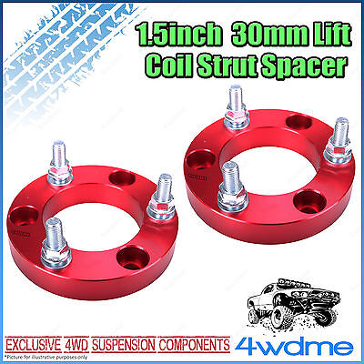 AU104 • Buy Pair Toyota Hilux KUN26 N70 4WD Front Coil Strut Spacer 1.5  30mm Lift Kit