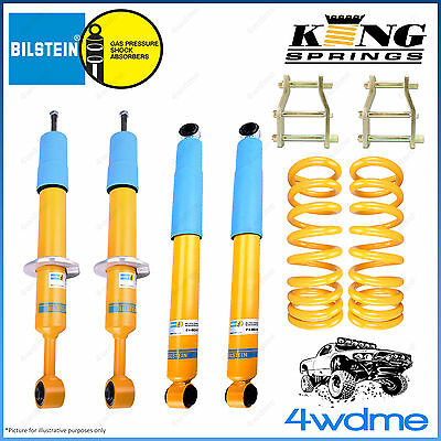 AU1230 • Buy Mitsubishi Triton ML MN 4WD Bilstein B6 & KING Spring EASY LIFT 2  50mm LIFT KIT