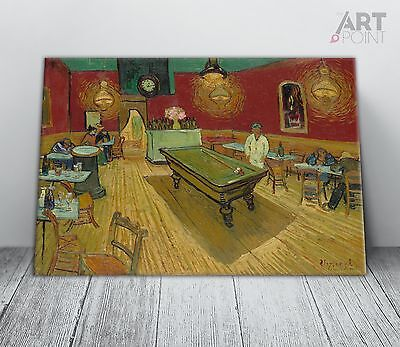 £29.99 • Buy Vincent Van Gogh The Night Cafe Canvas Print Framed Wall Art Picture