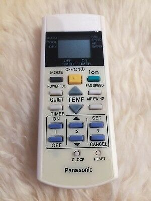 AU26 • Buy Replacement Air Conditioner Remote Control For Panasonic Model A75C3299 A75C2600