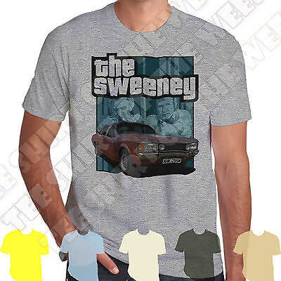 The Sweeney Ford Consul GT 70s Retro T-shirt 100% Cotton,  7 Colours To Choose • 9.99£