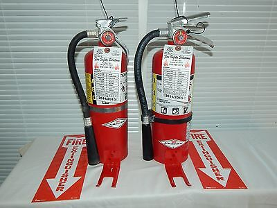 $59 • Buy Fire Extinguisher - 5Lb ABC Dry Chemical Lot Of 2 [SCRATCH&DENT]
