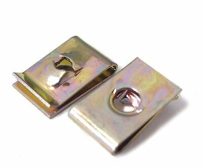 £1.95 • Buy Screw Size 6 8 10 12 14 Speed Fasteners U Nuts Spire Nut Clip Auto Capive Clips