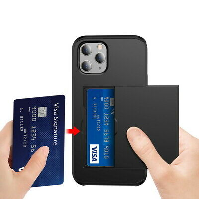 AU5.62 • Buy Shockproof Wallet Credit Card Pocket Holder Case Cover For IPhone X 8 6s 7 Plus