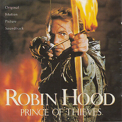 ROBIN HOOD: PRINCE OF THIEVES Soundtrack CD • 5.47£