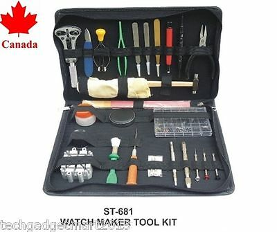 $ CDN99.99 • Buy Watch Repair Tool Kit For Pro Watch Maker St681