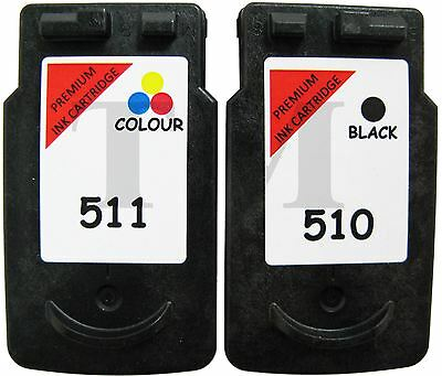 PG-510 & CL-511 Black & Colour Multipack Ink To Fit Canon Pixma MP230 Printers • 24.95£