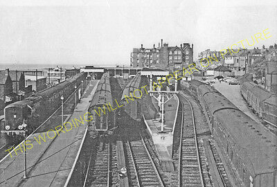 Hunstanton Railway Station Photo. Heacham, Snettisham And Kings Lynn Line. (38) • 3.50£