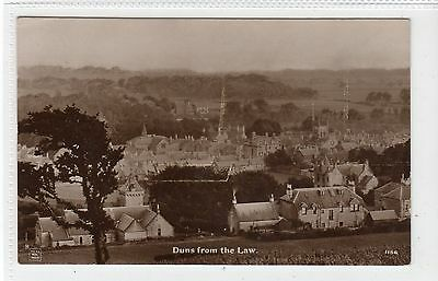 DUNS FROM THE LAW: Berwickshire Postcard (C13112) • 10£