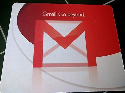£9.45 • Buy Google Gmail Go Beyond Promo 2004 Launch MOUSE PAD 9 X 7inch USA Android