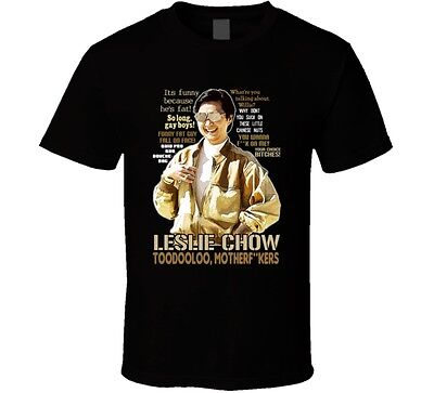 Leslie Chow The Hangover Quotes Funny Fan T Shirt • 17.78£