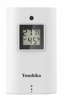 Youshiko YC9315 Wireless Temperature & Humidity Sensor For Weather Station  • 21.99£