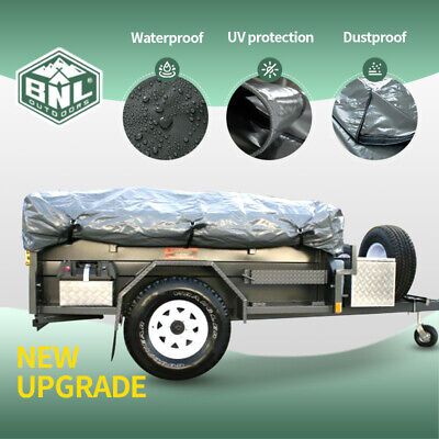 AU190 • Buy PVC Travel Covers For Camper Trailer Tent, Fit For Most Models, 2.3x1.75(M)