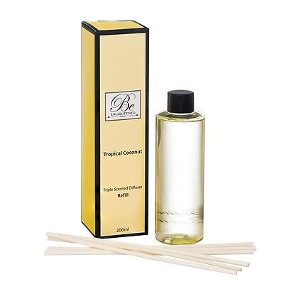 AU25.95 • Buy Be Enlightened~diffuser Refill~triple Scented Tropical Coconut