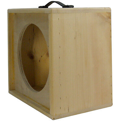 AU123.28 • Buy 1x12 Solid Pine, Raw Wood Extension Guitar Speaker Empty Cabinet G1X12ST RW