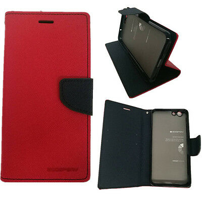 AU9.95 • Buy Oppo F1S Genuine Mercury Goospery Fancy Diary Stand Wallet Case Cover Free SP