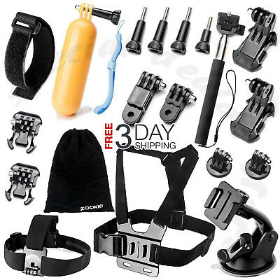 $ CDN28.89 • Buy All-in-1 Essentials Accessories Kit For GoPro Hero 7/6/5/4/3 Session Hero LCD