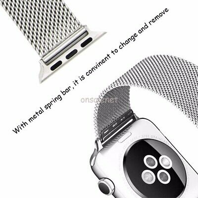 $ CDN52.10 • Buy For All Model Apple Watch Series 3-2-1 Le Veil HQ Watch Band + Free Cover