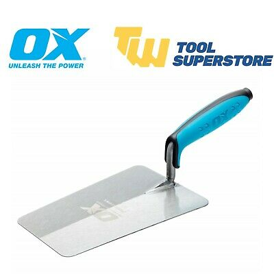 OX Pro 7in Bucket Trowel Stainless Steel 180mm Builders Brick Laying Cement Tool • 10.95£