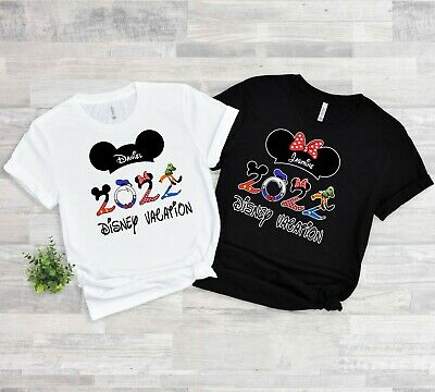 $11.99 • Buy 2020 FAMILY VACATION Disney New Mickey & Minnie T-Shirts ALL SIZES 6 MONTH-4XL
